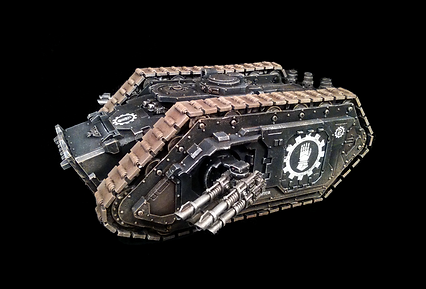 Spartan Assault Tank Iron Hands Space Marines 40k 30k Horus Heresy BBS Miniature Painting Commission Service