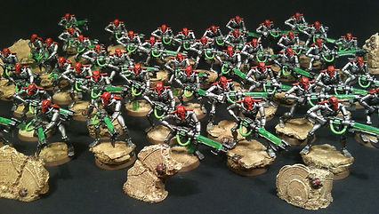 40k Necron Army BBS Miniature Commission Painting Service