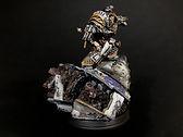 Perturabo Iron Warriors Space Marines 40k 30k Horus Heresy BBS Miniature Painting Commission Service
