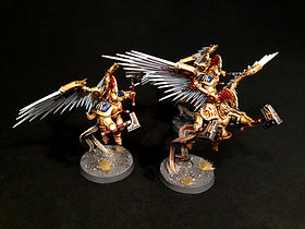 Prosecutors Stormcast Eternal Age of Sigmar BBS Miniature Painting Commission Service