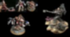 Angron Ferrus Manus Primarch Horus Heresy 40k 30k BBS Miniature Painting Commission Service