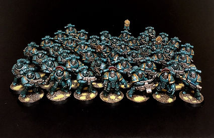 Legion Tactical Sons of Horus Space Marine Horus Heresy 40k 30k BBS Miniature Painting Commission Service