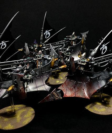 Ravager Dark Eldar Drukhari 40k BBS Miniature Painting Commission Service