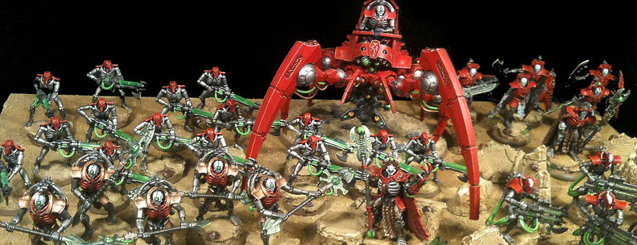 Necron Army 40k BBS Miniature Painting Commission Service