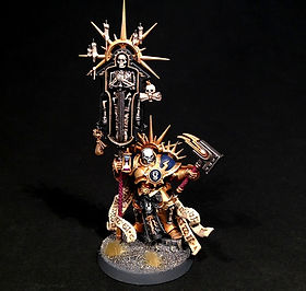 Lord Relictor Stormcast Eternal Age of Sigmar BBS Miniature Painting Commission Service