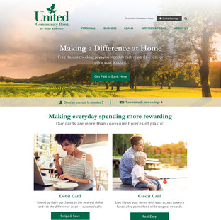 United Community Bank of West Kentucky Homepage