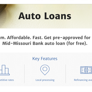 Mid-Missouri Bank Product Page