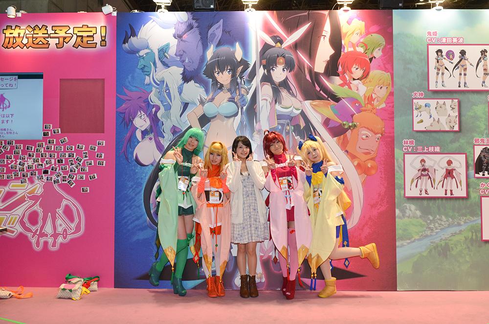 アニメジャパン2014〈モモキュンソード〉1