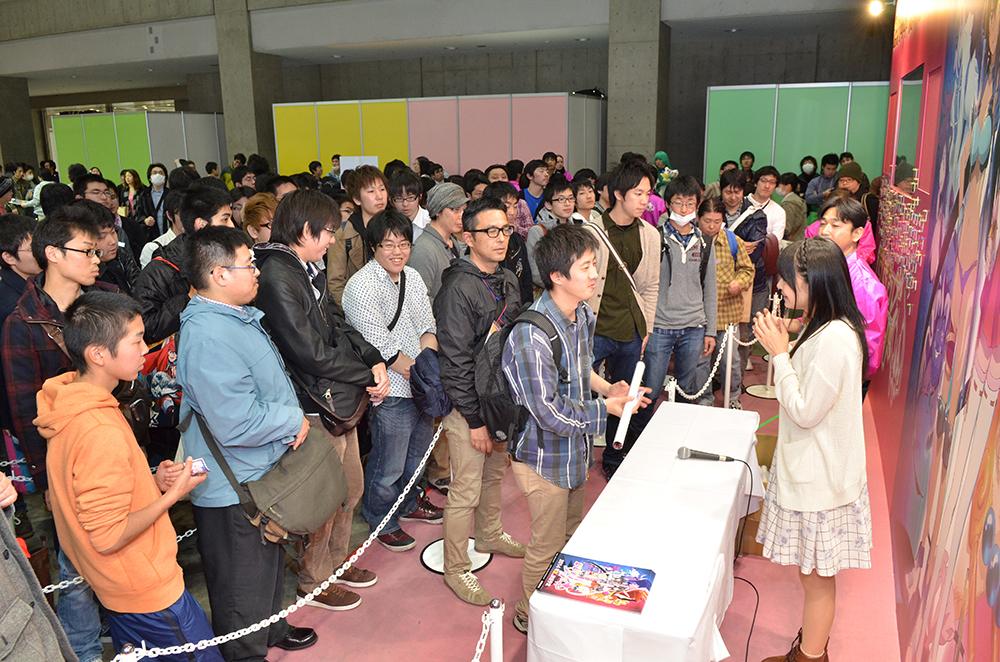 アニメジャパン2014〈モモキュンソード〉2