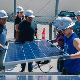 Building Solar Powered Unit