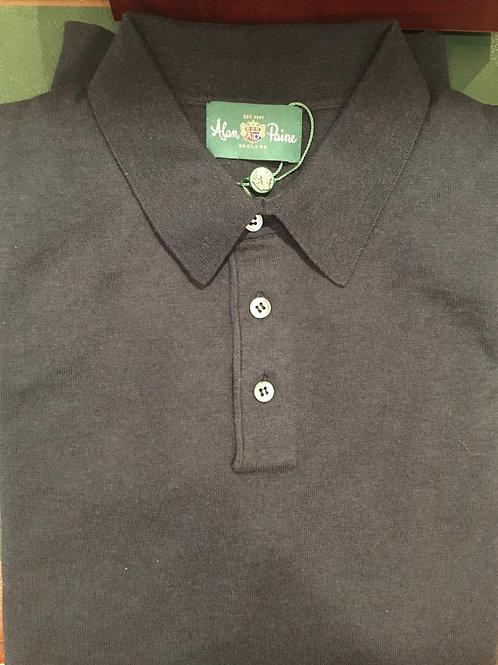 Alan Paine Pentlow Long Sleeve Polo Shirt