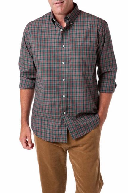 Castaway Chase Shirt in Festive Plaid