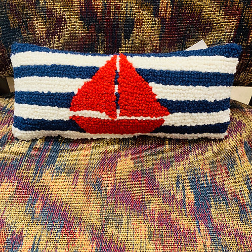Sailboat Mini Pillow