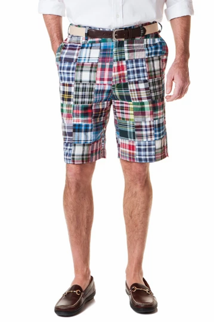 Castaway Cisco Short in Lincoln Patch Madras