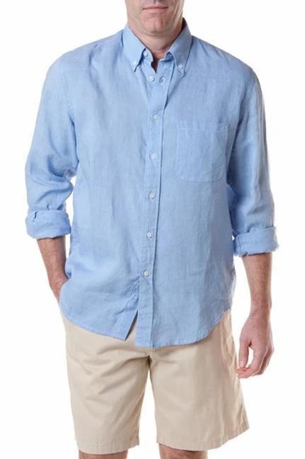 Castaway Chase Shirt in Linen