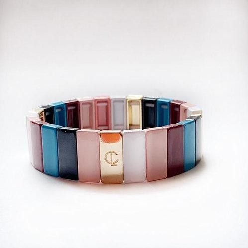 Tile Bracelet- Muted Fall