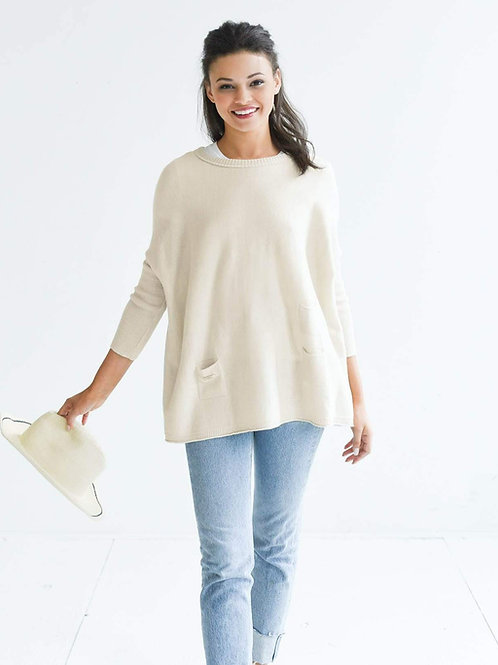 The Catalina Travel Sweater - Mer Sea