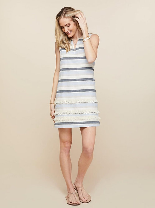 Evie Fringe Dress- Spartina