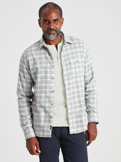 Faherty Brand Stretch Seaview Flannel-Maverick Plaid