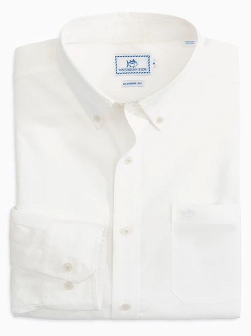 Southern Tide Sullivans Solid Button Down Shirt