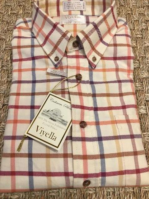 Viyella Cotton Cashmere Flannel Sportshirt