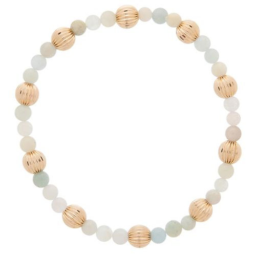 enewton- Sincerity Gold Bead Bracelet