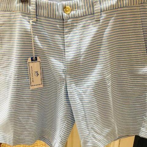 Southern Tide Oxford Stripe Short