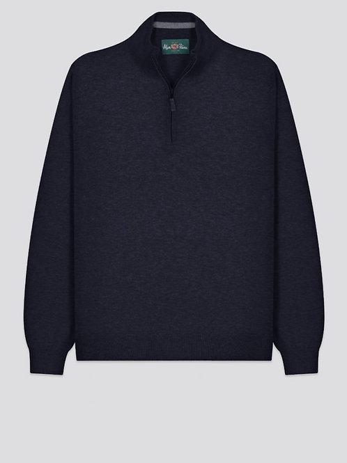 Alan Paine Stowbridge 1/4 Zip Sweater