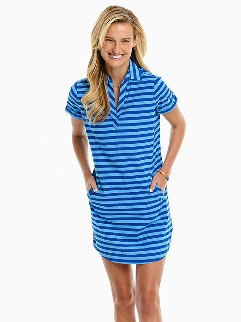 Kamryn Striped Shirt Dress