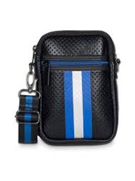 Black/Blue Cell Phone Bag