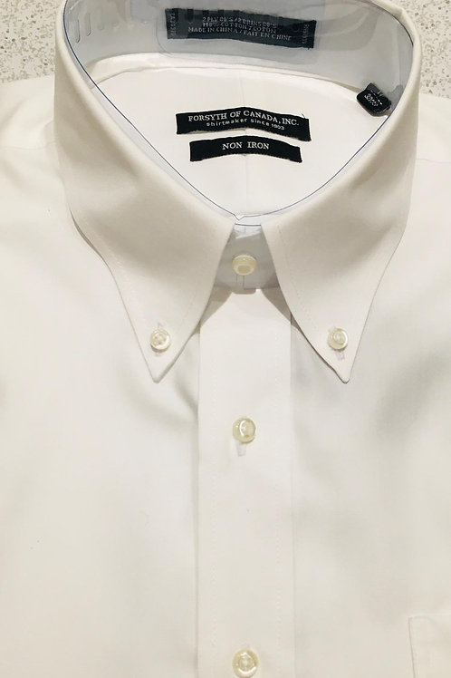 Forsyth of Canada Pinpoint Oxford Button Down Dress Shirt