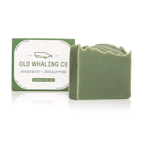 Spearmint and Eucalyptus Bar Soap