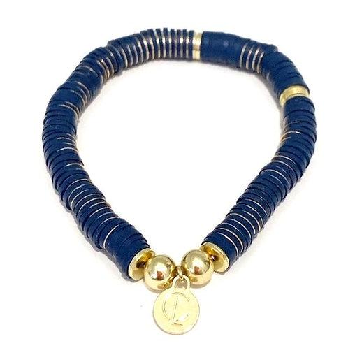 Caryn Lawn Thick Disc Bracelet