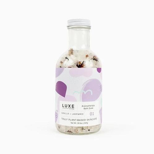 Vanilla and Lavender Aromatherapy Bath Soak