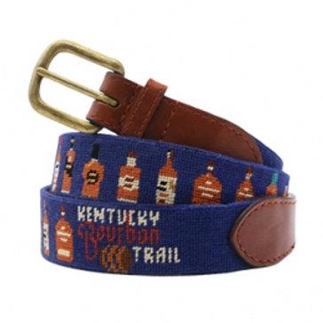 Smathers And Branson Kentucky Bourbon Trail Needlepoint Belt