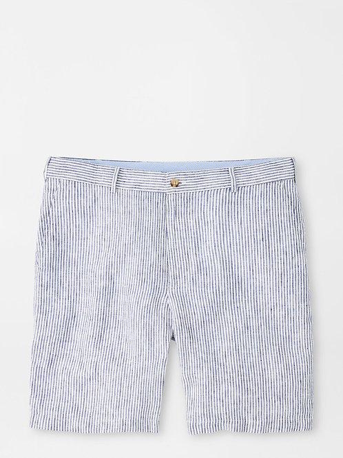 Peter Millar Linen Stripe Short