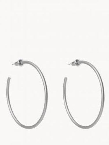 Fine Line Hoop Earring