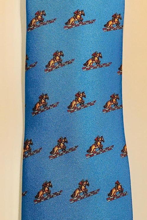 Marchesi di Como Silk Equestrian Necktie