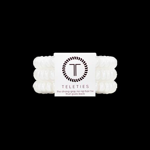 Teleties - Large Coconut White