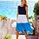 Thumbnail: Color Block A-Line Dress
