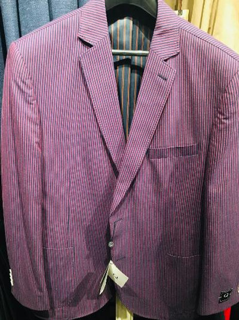Q By Flynt Dylan Jacket in Candy Stripe