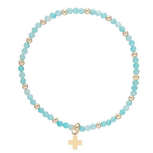 enewton- Sincerity Bead Bracelet Cross Charm