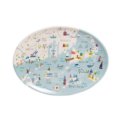 Northern Shores Melamine Platter