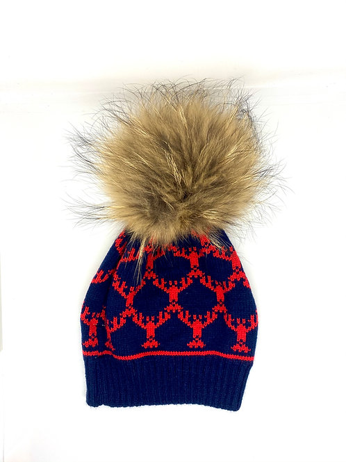 Lobster Knit Hat