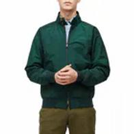 Baracuta G9 Harrington Jacket-Green