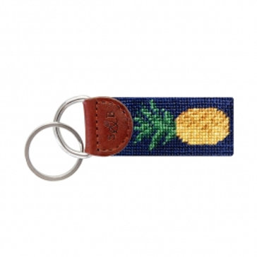 "Smathers & Branson ""Welcome"" Pineapple Key Fob"