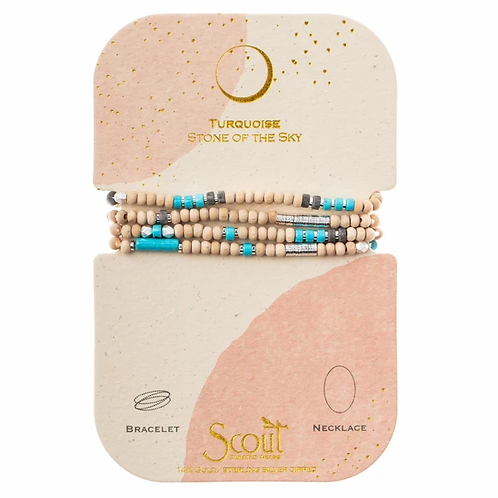Stone of the Sky Turquoise Wrap