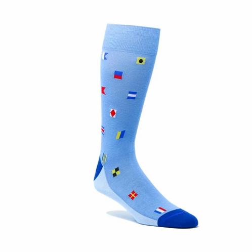 ELL & Atty Mens  Burgee Socks