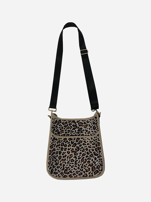 Leopard Messenger Bag