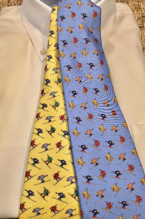 Peter Blair Silk Skier Neckties